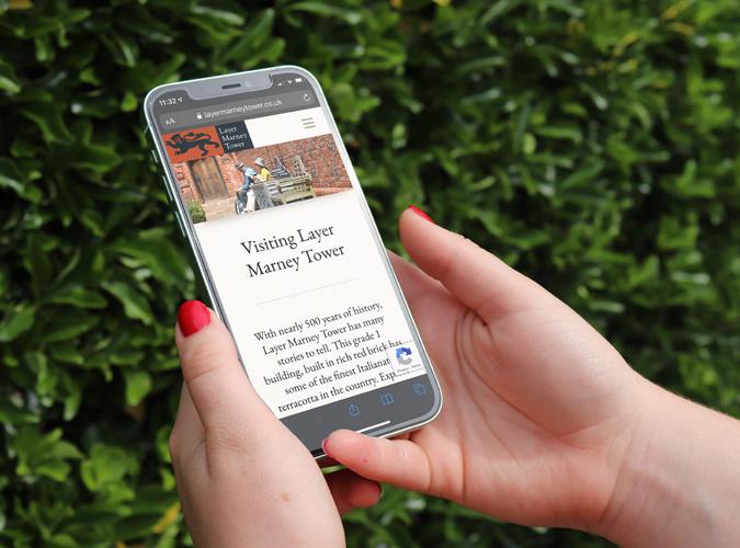 Layer Marney Tower | Website | Phelan Barker